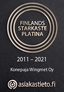 The Strongest in Finland Platinum certificate 2007-2015