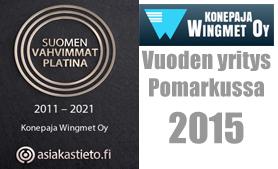 Vuoden yritys Pomarkussa 2015